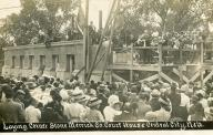 Central City, Laying of Cornerstone, 1915